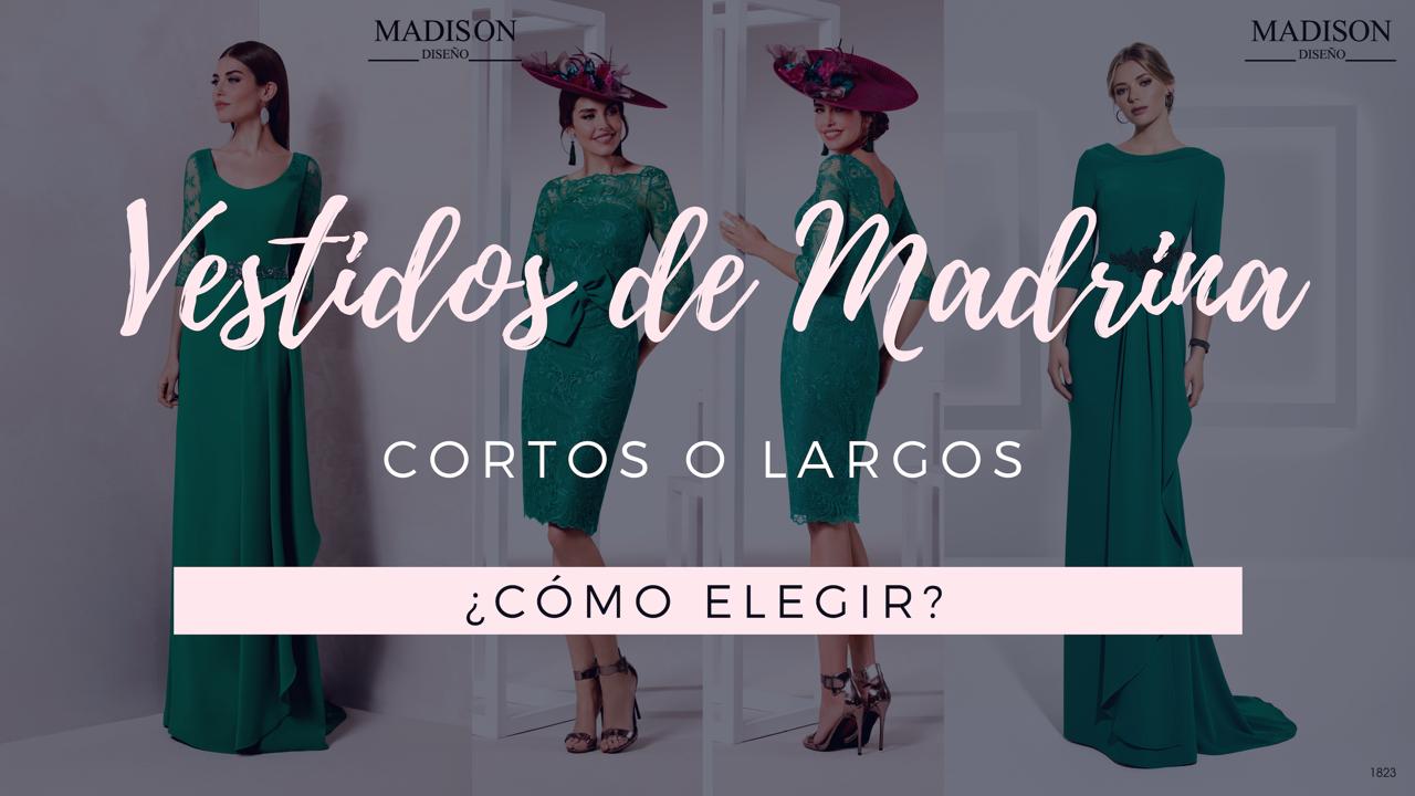 70fdfca1e9 Vestidos de madrina cortos y largos ¿Cómo elegir  - Madison Diseño